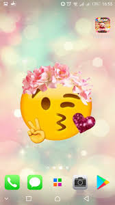 emoji wallpapers cute