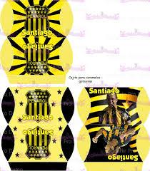 Kit Imprimible Penarol Personalizable Tarjetas Cumpleanos 150