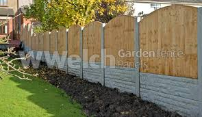 Arched Fence Panel Feather Edge Fence Panel Convex Fence