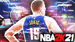 GLITCHED NIKOLA JOKIC NBA 2K21 BUILD ...