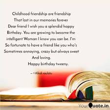 childhood friendship are quotes writings by raulatu