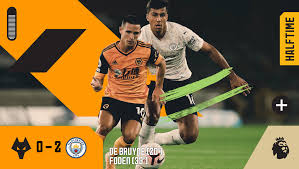 Wolverhampton Wanderers FC - HT | Wolves 0-2 Manchester City Wolves behind  at the break. #WOLMCI