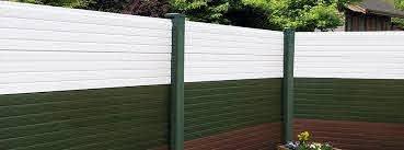 Garden Fencing Pvc Fence Posts Bases Pennine Fencing Landscaping