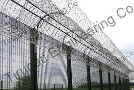 Smart Security Fences At Rs 85 Square Feet Security Fencing स रक ष ब ड Tirupati Engineering Co Siliguri Id 20394404955