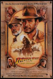 Indiana Jones and the Last Crusade - 1989 - Original Movie Poster – Art of  the Movies