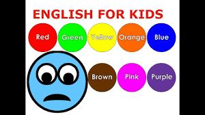 Bé học tiếng Anh với màu sắc, hình dạng, con số và chữ cái ...