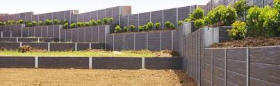 New Engineered Fence Connections Top Off A Great Sleeper Wall Concrib Concrib