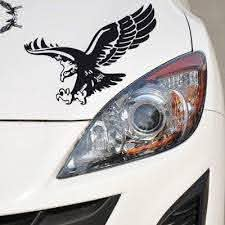 Car Stickers Auto Door Fashion Reflective Eagle Decal Vinyl Hood Cover Sticker Car Styling Buy At A Low Prices On Joom E Commerce Platform