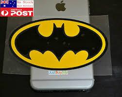 Yellow Batman Vinyl Car Body Window Glass Man Sticker Decal Ipad Notebook 13cm Ebay
