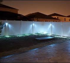 Fence Lighting Fence Lighting Solar Fence Lights Outdoor Lighting