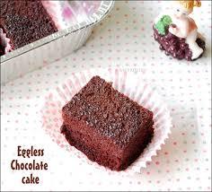 eggless chocolate cake recipe moist
