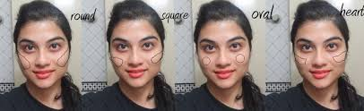 apply blush for your face shape