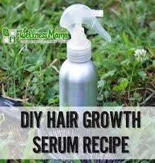 natural hair growth serum recipe