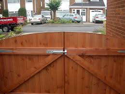 Wooden Driveway Gates For Added Security Advanced Fencing And Gates
