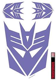 Transformers Decepticon Car Decal Set Uncanny