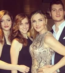 Lorella Cuccarini figli Sara, Giovanni e i gemelli Chiara e ...