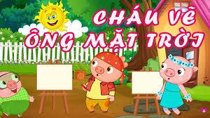 Cháu Vẽ Ông Mặt Trời - Bé Cao Lê Hà Trang