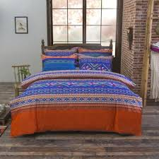 bohemia 4pc 3d comforter bedding sets