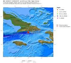 Terremoti: scossa magnitudo 5.1 a Cuba, sequenza sismica in atto ...