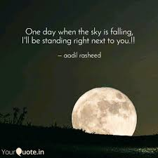 one day when the sky is f quotes writings by aadil rasheed