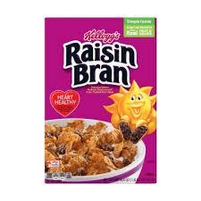 kellogg s raisin bran breakfast cereal