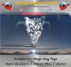 Icp Insane Clown Posse Jeckel Brothers Window Vinyl Decal Sticker Ebay