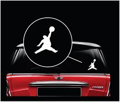 Fat Michael Air Jordan Jumpman Window Decal Sticker Custom Sticker Shop