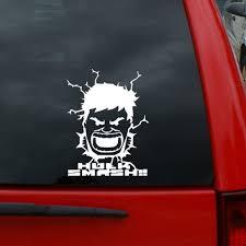 Hulk Bruce Banner Smash Tall Vinyl Decal Window Sticker For Cars Trucks Windows Walls Laptops And More Wish