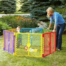 Big 6 Panel Wide Super Playpen Play Yard Baby Pet Dog Enclosure Gate Large Pen