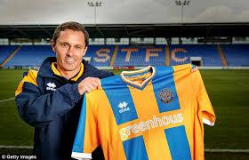 Shrewsbury Town appoint former Grimsby Town boss Paul Hurst as ...