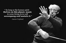 Aaron Copland | Inspirational music quotes, Music quotes, Music quotes funny