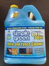 Simoniz Gs22 Green Scene Deck And Fence Cleaner For Sale Online Ebay