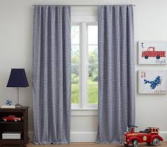 Gingham Kids Blackout Curtain Pottery Barn Kids