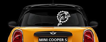 Miami Inspired Window Car Decal Sports Team Inspired Car Decal Ebay Car Decals Miami Inspired Car Window