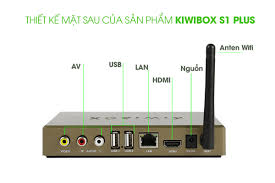 Android kiwi box S1 NEW ram 1GB biến tivi thường thành smart tivi ...