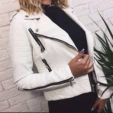2019 women s leather jacket motorcycle