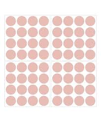 Wallpops Rose Gold Metallic Dot Vinyl Wall Decal Set Of 64 Best Price And Reviews Zulily