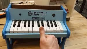 schoenhut toy piano arduino