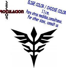 Neo Zeon Gundam Vinyl Decal Sticker 814 Rainbowlands Lk