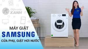 Máy giặt Samsung: cửa phụ Addwash, giặt hơi nước diệt khuẩn ...