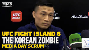 UFC Fight Island 6: The Korean Zombie ...