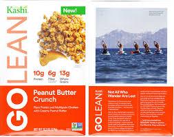 golean peanut er crunch review