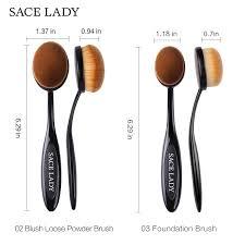 sace lady makeup brushes set foundation