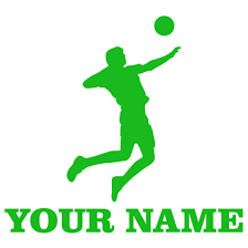 Volleyball Serve Window Decal Magnetic Impressions Llc