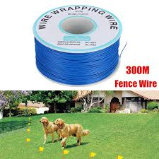 Juchedong 300m Underground Electric Shock Pet Dog Fence System Boundary Coil Wire Cable Lazada Ph