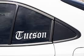 Tucson Arizona Southwest Cute Local Native Home City State Etsy In 2020 Window Art Art Gift High Quality Vinyl
