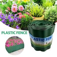 Qiqi Home Garden Border Edging Plastic Fence Lawn Flower Bed Trimmed Fence Path Green Small Wood Fencing Diy Qiqimall Shopee Philippines