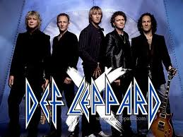 Def Leppard Color Band Sticker Custom Decals Vinyls Pro Sport Stickers Car Decals