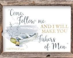 Matthew 4 19 Etsy