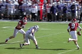 Oklahoma Sooners Fullback Aaron Ripkowski Ejected for Targeting (GIF)